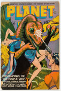 Golden Age (1938-1955):Science Fiction, Planet Comics #37 (Fiction House, 1945) Condition: GD....