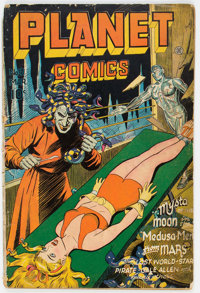 Planet Comics #41 (Fiction House, 1946) Condition: FR/GD