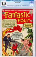 Silver Age (1956-1969):Superhero, Fantastic Four #6 (Marvel, 1962) CGC VF+ 8.5 Off-white pages....