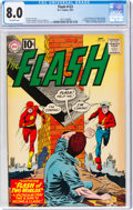 Silver Age (1956-1969):Superhero, The Flash #123 (DC, 1961) CGC VF 8.0 Off-white pages....