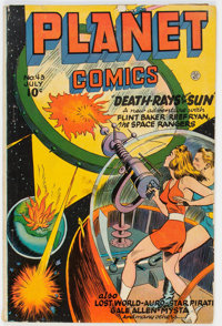 Planet Comics #43 (Fiction House, 1946) Condition: GD+