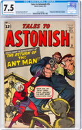 Silver Age (1956-1969):Superhero, Tales to Astonish #35 (Marvel, 1962) CGC VF- 7.5 Cream to off-white pages....
