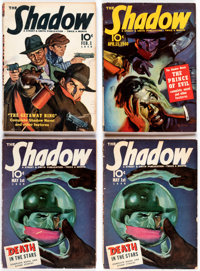Shadow Box Lot (Street & Smith, 1940-44) Condition: Average VG.... (Total: 39 Items)