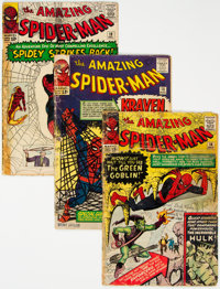 The Amazing Spider-Man #14, 15, and 19 Group (Marvel, 1964) Condition: Average FR.... (Total: 3 Comic Books)