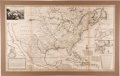 Miscellaneous:Maps, (Herman Moll): A New Map of the North Parts of America claimed by France under ye Names of Louisiana, Mississippi, Canada and ...