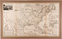 (Herman Moll): A New Map of the North Parts of America claimed by France under ye Names of Louisiana, Mississippi, Canad...