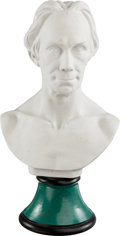 Political:3D & Other Display (pre-1896), Henry Clay: Union Porcelain Works Parian Bust....