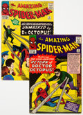 Silver Age (1956-1969):Superhero, The Amazing Spider-Man #11 and Group (Marvel, 1964) Condition: Apparent VG.... (Total: 2 Comic Books)