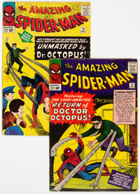 The Amazing Spider-Man #11 and Group (Marvel, 1964) Condition: Apparent VG.... (Total: 2 Comic Books)