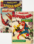 Silver Age (1956-1969):Superhero, The Amazing Spider-Man #16 and 17 Group (Marvel, 1964) Condition: Average GD/VG.... (Total: 2 Comic Books)