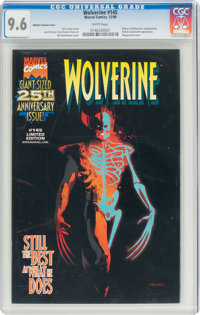 Wolverine #145 Nabisco Variant Cover (Marvel, 1999) CGC NM+ 9.6 White pages