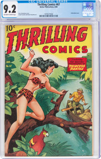 Thrilling Comics #67 (Better Publications, 1948) CGC NM- 9.2 Off-white to white pages