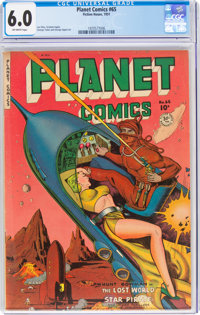 Planet Comics #65 (Fiction House, 1951) CGC FN 6.0 Off-white pages