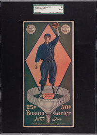 1914 Boston Garter Johnny Evers SGC Authentic - The Only Graded Example!