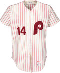 Baseball Collectibles:Uniforms, 1980 Pete Rose Game Worn Philadelphia Phillies Jersey, MEARS A10....
