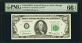 Small Size:Federal Reserve Notes, Fr. 2163-G* $100 1963A Federal Reserve Star Note. PMG Gem Uncirculated 66 EPQ.. ...