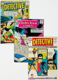 Detective Comics Group of 21 (DC, 1959-69) Condition: Average VG+.... (Total: 21 Comic Books)