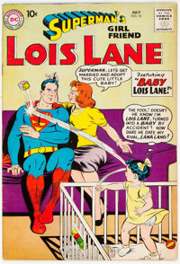 Superman's Girlfriend Lois Lane #10 (DC, 1959) Condition: FN+