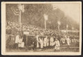 Baseball Collectibles:Others, 1907 New York Highlanders Accordion-Style Postcard...