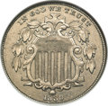 Shield Nickels, 1880 5C AU58 ANACS....