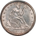 1842 50C Small Date, Large Letters, WB-102, Die Pair 7, R.2, MS63 PCGS....(PCGS# 572012)