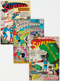 Superman Group of 19 (DC, 1960-70) Condition: Average VG.... (Total: 19 Comic Books)