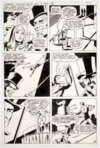 Dick Ayers and Jack Abel Freedom Fighters #14 Story Page 13 Original Art (DC Comics, 1978)