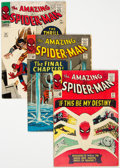 Silver Age (1956-1969):Superhero, The Amazing Spider-Man #31-34 and 37 Group (Marvel, 1965-66) Condition: Average VG.... (Total: 5 Comic Books)