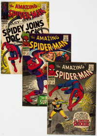 The Amazing Spider-Man Group of 19 (Marvel, 1965-68) Condition: Average VG.... (Total: 19 Comic Books)