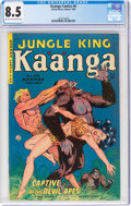 Golden Age (1938-1955):Adventure, Kaanga Comics #6 (Fiction House, 1950) CGC VF+ 8.5 Light tan to off-white pages....