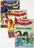 Silver Age (1956-1969):Superhero, The Amazing Spider-Man Group of 5 (Marvel, 1965-66) Condition: Average GD/VG.... (Total: 5 Comic Books)