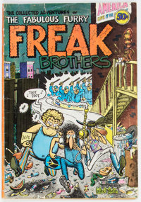 The Fabulous Furry Freak Brothers #1 (Rip Off Press, 1971) Condition: VG