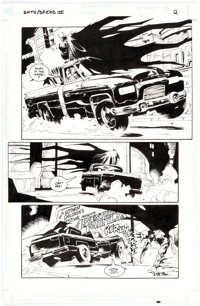 Cam Kennedy Batman / Judge Dredd: Vendetta in Gotham Story Page 2 Original Art (DC; Fleetway, 1993)