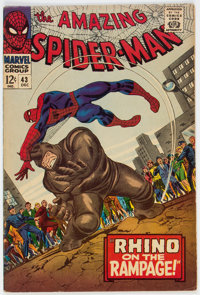 The Amazing Spider-Man #43 (Marvel, 1966) Condition: FN-