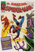 Silver Age (1956-1969):Superhero, The Amazing Spider-Man #21 (Marvel, 1965) Condition: FN-....