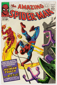 The Amazing Spider-Man #21 (Marvel, 1965) Condition: FN-