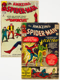 Silver Age (1956-1969):Superhero, The Amazing Spider-Man #9 and 10 Group (Marvel, 1964) Condition: GD-.... (Total: 2 Comic Books)