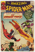 Silver Age (1956-1969):Superhero, The Amazing Spider-Man #17 (Marvel, 1964) Condition: GD+....