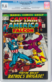 Captain America #149 (Marvel, 1972) CGC NM+ 9.6 Off-white to white pages