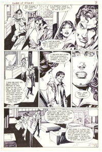 Gil Kane Sword of the Atom #1 Story Page 6 Original Art (DC, 1983)