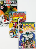 Modern Age (1980-Present):Miscellaneous, Marvel Modern Age Group of 46 (Marvel, 1980-92) Condition: Average NM-.... (Total: 46 )