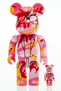 BE@RBRICK X The Andy Warhol Foundation for the Visual Arts This is Andy 400% and 100% (Pink Camo