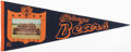 Football Collectibles:Others, 1963 Chicago Bears Pennant. ...