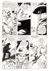 Dick Ayers and Vince Colletta Two Gun Kid #74 Story Page 11 Original Art (Marvel, 1965)