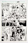 Original Comic Art:Panel Pages, Alan Davis and Mark Farmer Excalibur #47 Story Page 12 Original Art (Marvel, 1992)....