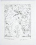 Original Comic Art:Miscellaneous, John Romita Sr. Marvel Graphic Novel #16 The Aladdin Effect She-Hulk, Storm, and Tigra Preliminary Ori...