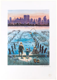 Will Eisner The Best of Yesterday Limited Edition Print Numbered Limited Edition Print #524/800 (1988)