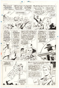 Dick Ayers and Vince Colletta Ghost Rider #2 Story Page 7 Original Art (Marvel, 1967)