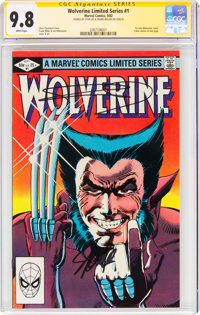 Wolverine #1 Signature Series (Marvel, 1982) CGC NM/MT 9.8 White pages