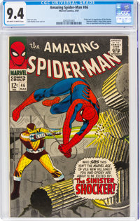 The Amazing Spider-Man #46 (Marvel, 1967) CGC NM 9.4 Off-white to white pages